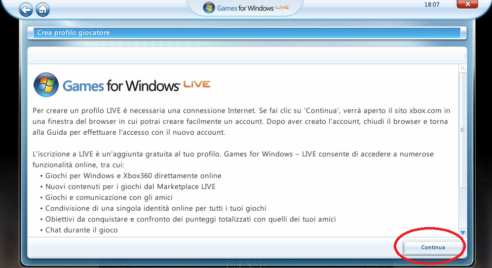 how to create a windows live account offline
